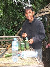 Photo: Your coffee in the morning in Jungle camp-3 Days Nam Ha Jungle Camp in Luang Namtha, Laos