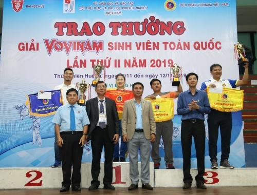 Hình ảnh: ĐH Sư phạm TDTT TPHCM bảo vệ thành công ngôi đầu Giải Vovinam sinh viên toàn quốc số 3