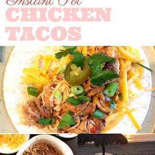 Instant Pot chicken tacos.