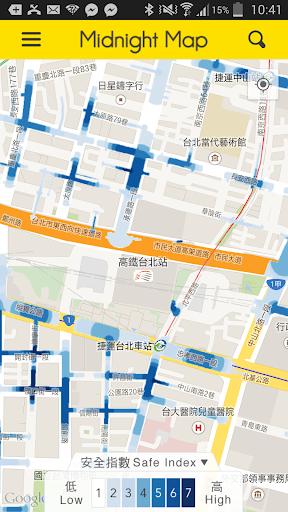 夜歸地圖 Midnight Map