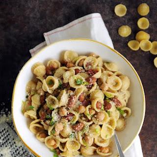 Orecchiette with Beans & Pancetta
