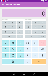 Fraction Calculator- screenshot thumbnail