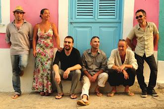 Photo: Le groupe Agua Na Boca en résidence artistique à Recife/Olinda, novembre 2012
