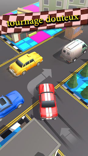 Code Triche trafic Taxi courir 2019: 3d échapper coureur APK MOD (Astuce) screenshots 1