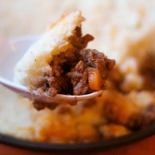 Shepherds Pie with Mashed Cauliflower
