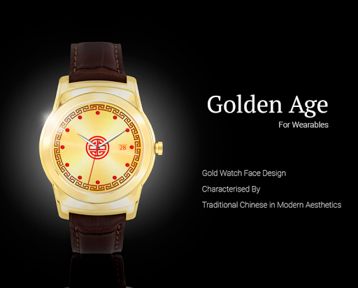 Golden Age Watch Face