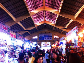 Photo: Sights from Lonely Planet Old Saigon Walking Tour.  Ben Thanh Market.