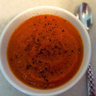 Creamy Tomato & Carrot Soup