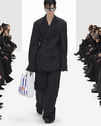 Grocery Store Bags Are Chic Now, Just Ask Balenciaga