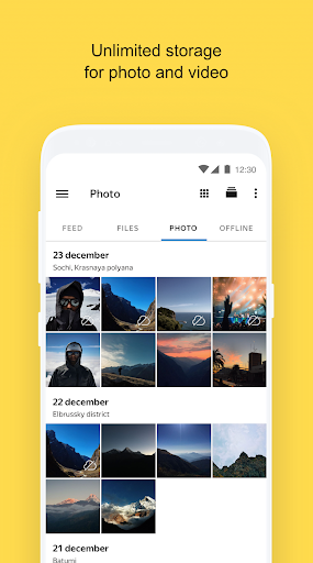 Yandex.Disk 4.15.0 screenshots 1