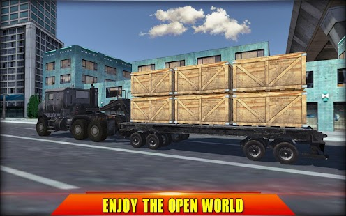 Heavy Truck Simulator USA Screenshot