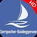 Lake Sempach Hallwil Baldegg Offline GPS Charts Icon