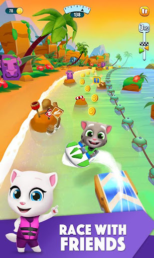 Download Talking Tom Jetski 2 MOD APK 4