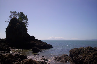 Photo: View over the firth of Thames. Coromandel peninsula in the distance.