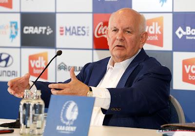 """De Witte beseft dat kloof tussen Club Brugge en Gent groter is geworden: """"Het is geen toeval, we hebben fouten gemaakt"""""""