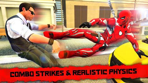 Superhero Iron Ninja Battle: City Rescue Fight Sim u0635u0648u0631 1