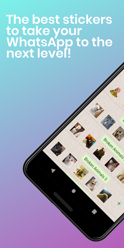 Stickers Collection for WhatsApp - WAStickerApps screenshot 1
