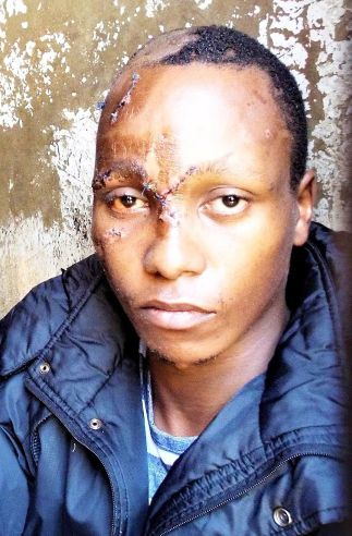 Naftaki Kinuthia moments after he was arrested over the killing of medical student Ivy Wangechi in Eldoret on April 9, 2019.