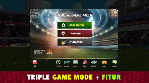 Super Fire Soccer Indonesia 2020: Liga & Turnamen apkpoly screenshots 4