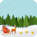 Santa Cartoon Games To Running icon