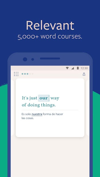 Lingvist: Learn German, French, Spanish vocabulary Android App Screenshot