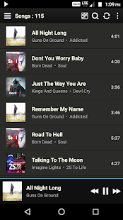 Oneamp Pro - Music Player Screenshot