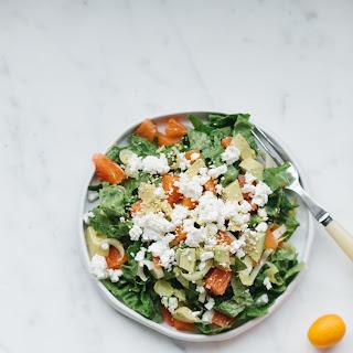 Salad of Cara Cara Oranges, Avocado and Feta