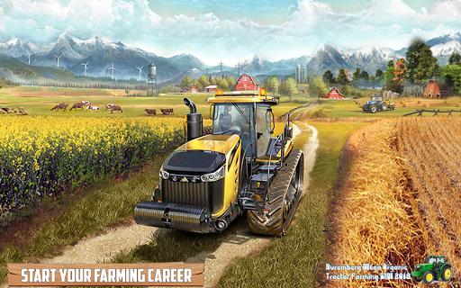 Nuremberg Mega Organic Tractor Farming SIM 2020 screenshots 8