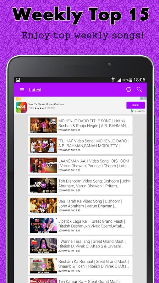 hindi songs video hd quality