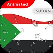 Sudan Flag Animated Live Wallpaper