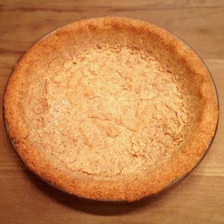 Almond Flour Crust for Tarts or Pies - Gluten Free, Low Carb, Sugar Free, Paleo