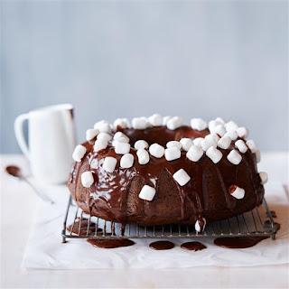 Hot Chocolate Fudge Cake.
