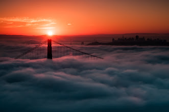 Photo: Sunrise on San Francisco  On my trip to San Francisco last week I never dreamed that I'd get to see the city like this. Thankfully I did. One morning +Amy Heidenand I got up at the butt crack of dawn and headed to Hawk Hill. A bit to our dismay we were not alone,+Toby Harrimanhad gathered thousands of photographers to stand shoulder to shoulder to witness this event.  #sunrisephotography  #sanfrancisco