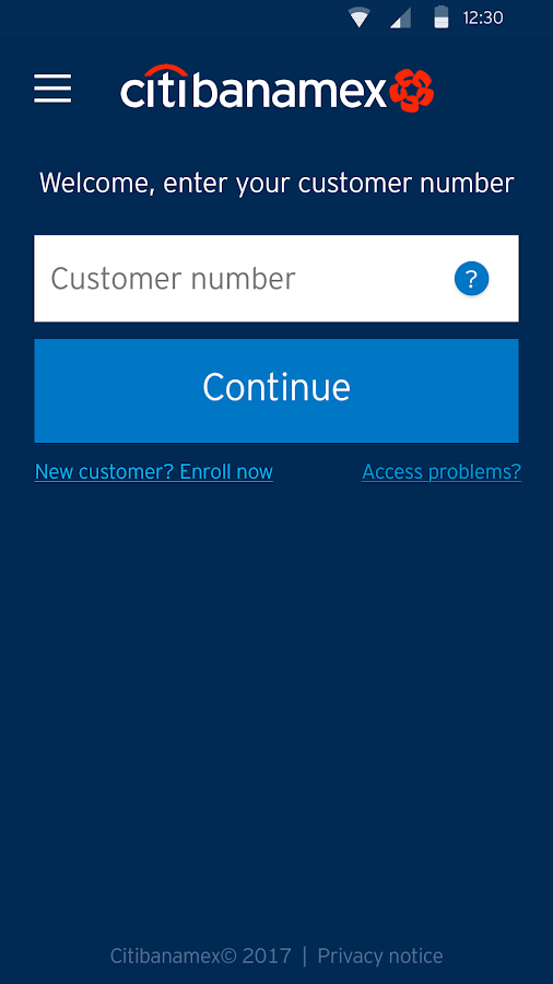 Citibanamex Móvil- screenshot