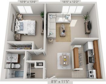 Go to Arden Floorplan page.