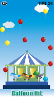 Screenshot of Balloon Hit 【Free game】