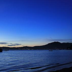 mystified blue by Irfan Andariska - Landscapes Waterscapes