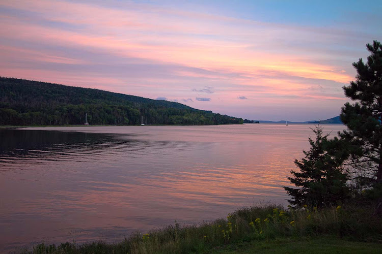 Bras d'Or Lakes teem with wildlife, scenic panoramas and boat tours to take them in. (Click to enlarge.)
