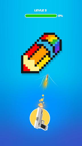 Hit the Pixel - Guns & Bricks apkdebit screenshots 3
