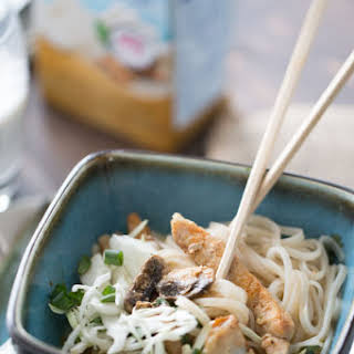 Coconut Curry Pork Noodle Bowl.