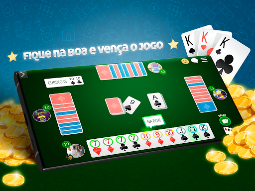 Cacheta Gin Rummy Online  screenshots 4