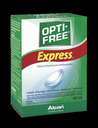 f99a61d292 Solución Para Lentes - Opti-Free Express Frasco X60Ml. - Farmatodo