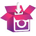 Insta downloader | downloader for instagram icon