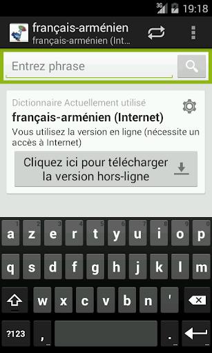 Français-Arménien Dictionnaire