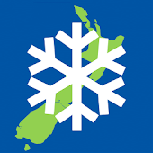New Zealand Snow Map