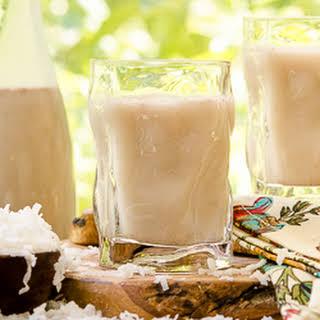 Horchata de Coco (Mexican Coconut Rice Drink).