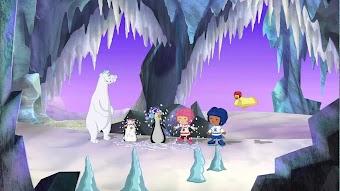 Auf glattem Eis