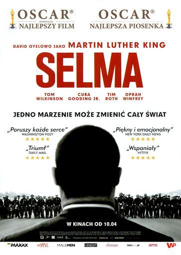 Przód ulotki filmu 'Selma'