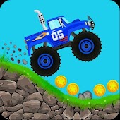 Mountain Hill Racing Car: Climbing Games