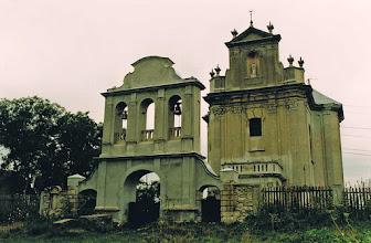 Photo: Kościół w lipcu 2002, fot. E. Wójtowicz.
